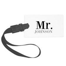 Customized Mr and Mrs set - Mr Luggage Tag