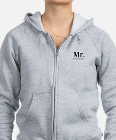 Customized Mr and Mrs set - Mr Zip Hoody