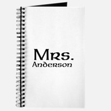 Personalized Mr and Mrs set - Mrs Journal