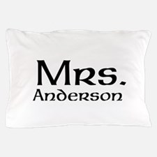 Personalized Mr and Mrs set - Mrs Pillow Case