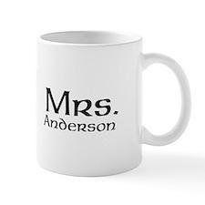 Personalized Mr and Mrs set - Mrs Mugs