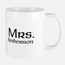 Personalized Mr and Mrs set - Mrs Mugs
