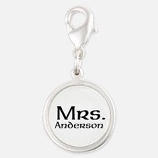 Personalized Mr and Mrs set - Mrs Charms