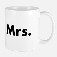 Half of Mr and Mrs set - Mrs Mugs