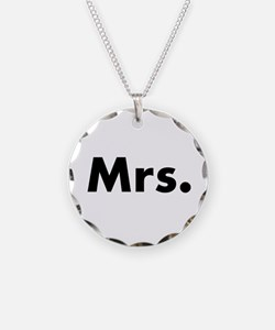 Half of Mr and Mrs set - Mrs Necklace