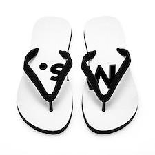 Half of Mr and Mrs set - Mrs Flip Flops