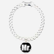 Mr half of couples set - Black Bracelet