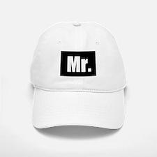 Mr half of couples set - Black Baseball Baseball Cap
