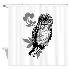 OYOOS Owl design Shower Curtain