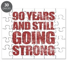 90th Birthday Still Going Strong Puzzle
