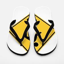 Pedestrian Flip Flops