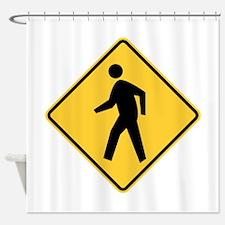 Pedestrian Shower Curtain