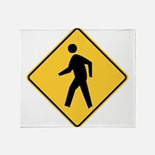 Pedestrian Throw Blanket
