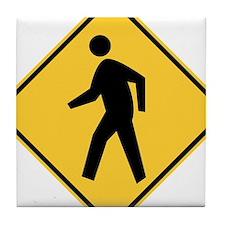 Pedestrian Tile Coaster