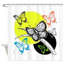 OYOOS Butterfly design Shower Curtain