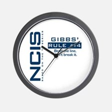 Gibbs' Rule #14 Wall Clock