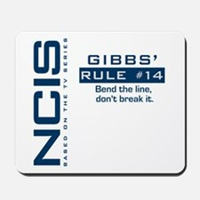 Gibbs' Rule #14 Mousepad
