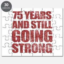 75th Birthday Still Going Strong Puzzle