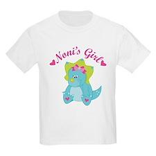 Noni's Girl Dinosaur T-Shirt