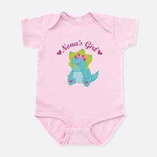 Nona's Girl Dinosaur Infant Bodysuit