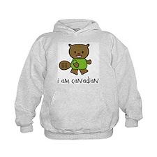 Beaver I am Canadian Hoodie