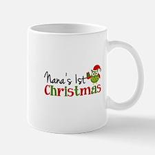 Nanas 1st Christmas Owl Mugs