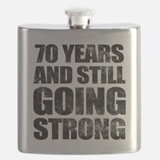 70th Birthday Still Going Strong Flask