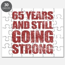 65th Birthday Still Going Strong Puzzle