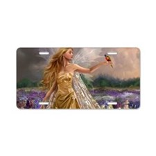 Fairy  Aluminum License Plate
