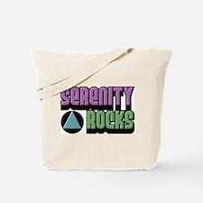 Serenity Rocks 12 Step Recovery Tote Bag