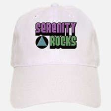 Serenity Rocks 12 Step Recovery Baseball Baseball Cap