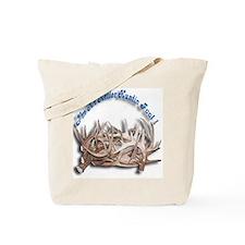 Antler Huntin Fool Tote Bag