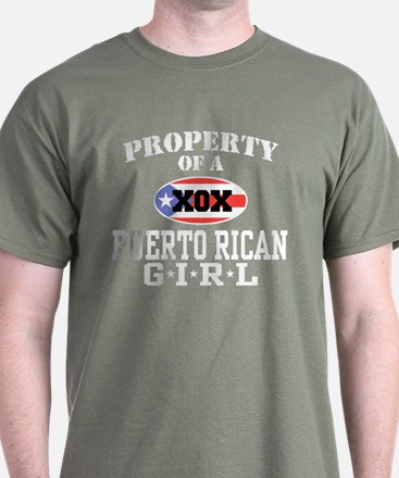 Property of a Puerto Rican Gi T-Shirt