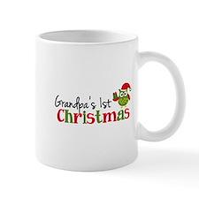Grandpa's 1st Christmas Owl Mug