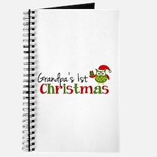 Grandpa's 1st Christmas Owl Journal
