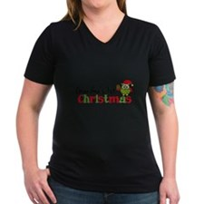 Grandma's 1st Christmas Owl Shirt