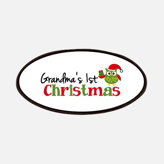 Grandma's 1st Christmas Owl Patches