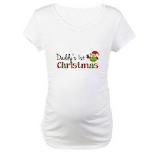 Daddy's 1st Christmas Owl Shirt