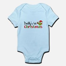 Daddy's 1st Christmas Owl Infant Bodysuit