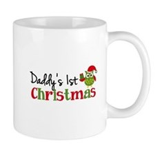 Daddy's 1st Christmas Owl Small Mug