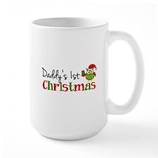 Daddy's 1st Christmas Owl Mug