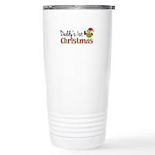 Daddy's 1st Christmas Owl Travel Mug