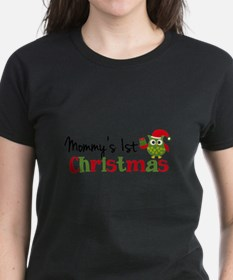 Mommy's 1st Christmas Owl Tee
