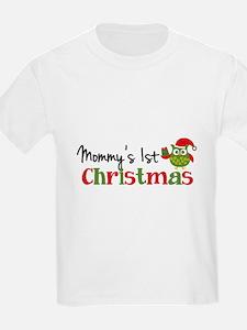 Mommy's 1st Christmas Owl T-Shirt