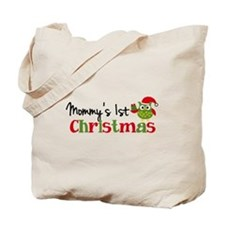 Mommy's 1st Christmas Owl Tote Bag