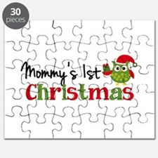 Mommy's 1st Christmas Owl Puzzle