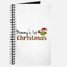 Mommy's 1st Christmas Owl Journal