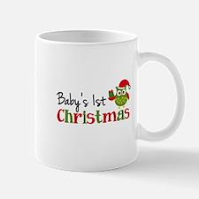 Baby's 1st Christmas Owl Mug