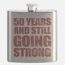 50th Birthday Still Going Strong Flask