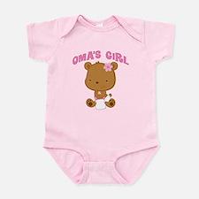 Oma's Girl Teddy Bear Onesie